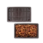 1/2 lb. plastic tray-1 piece fudge