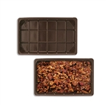 1/2 lb. plastic tray- 1 cavity-for fudge