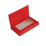 Red Chocolate Business Card Boxes