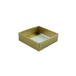 3 oz. Candy Box Bases-1 Layer-Gold Lustre