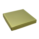 16 oz. Square Gold with Gold Candy Box Covers