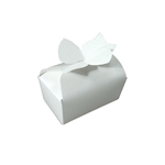 Large White Bow Favor Boxes