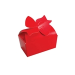 Large Red Bow Favor Boxes