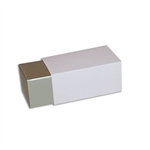 2 Truffle Candy Boxes in Champagne with Pink Sleeves