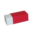 2 Truffle Candy Boxes in White with Red Sleeves
