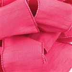 Offray Wire Edge Anisha Ribbon - 147 Cyclamen