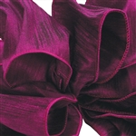 Offray Wired Taj Ribbon - 465 Purple