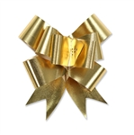 Gold Glitter Flora Satin Bow Magic Butterfly Bows