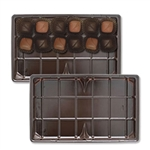 1 lb. Plastic Tray 1 fudge cavity