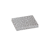 Presentation Pop Up Gift Card Boxes - Silver Cheetah