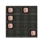 24 oz. Chocolate Plastic Trays