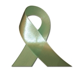 Single Face Satin Ribbon - Moss Green