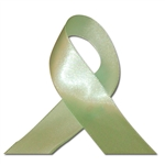 Single Face Satin Ribbon - Spring Moss Green