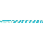 Splendorette® Curling Ribbon - Zebra Stripes Turquoise