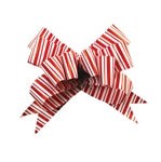 Peppermint Stripe Bow Magic Butterfly Bows