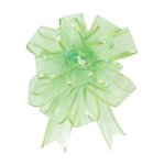Citrus Sheer Pom Pom Pull Bows Bow Magic