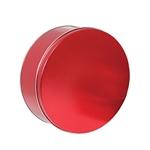 "8-1/8"" Round Sweet Red Tins"