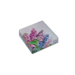 Chocolate Box Covers-3 oz.-1 Layer Butterfly & Flowers
