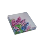 Chocolate Box Covers-8 oz.- Butterfly & Flowers