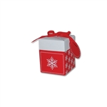 "4"" Giftalicious Boxes - Holiday Snowflake Pattern"