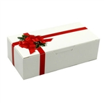 2 lb. Fudge Boxes - Ribbon N' Holly