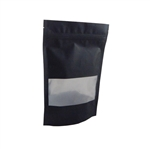 Medium Black Zipper Pouches