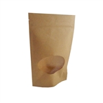 Medium Kraft Zipper Pouches