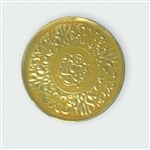 "2"" Gold Embossed Medallion Seals"