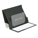 Black Presentation Pop Up Gift Card Folders