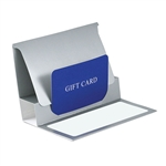 Silver Reflections Presentation Pop Up Gift Card Folders