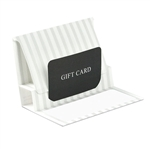 Pearl Stripe Reflections Presentation Pop Up Gift Card Folders