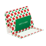 Bright Christmas Presentation Pop Up Gift Card Folders
