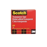"Scotch Transparent Tape - 3M 3/4"" x 72 Yards"