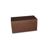 "8"" x 4"" x 4"" Brown Kraft 2 Cupcake / Bakery Boxes"