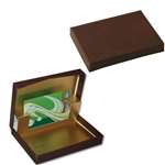Presentation Pop Up Gift Card Boxes - Leather Jacket