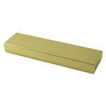 Necklace Gold Linen Foil Jewelry Boxes