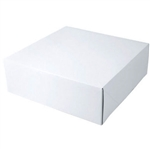 "White Gift Boxes Tuck-It Two Piece Pop Up 16"" x 16"" x 3"""