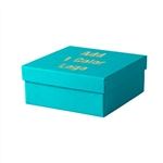 Medium Deep Tropical Blue Jewelry Boxes