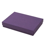 Large Deep Purple Jewelry Boxes