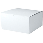 "White Gift Boxes Tuck-It Two Piece Pop Up 16"" x 16"" x 7"""