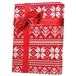 Recycled Alpine Sweater Kraft Gift wrap paper