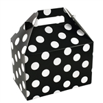 Medium Gable Boxes - Domino Dots pattern