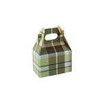 Mini Gable Boxes - Kensington Plaid pattern