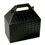 Medium Gable Boxes - Mock Croc pattern