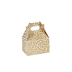 Mini Gable Boxes - Golden Cheetah pattern