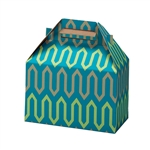 Recycled Zig Zag Gable Box
