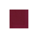 "Cranberry Beverage Napkin - 5"" x 5"" Unprinted 50 or 100/pack"