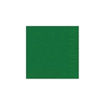 "Emerald Green Beverage Napkin - 5"" x 5"" Unprinted 50 or 100/pack"