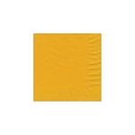 "Harvest Gold Beverage Napkin - 5"" x 5"" Unprinted 50 or 100/pack"