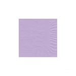 "Lavender Beverage Napkin - 5"" x 5"" Unprinted 50 or 100/pack"